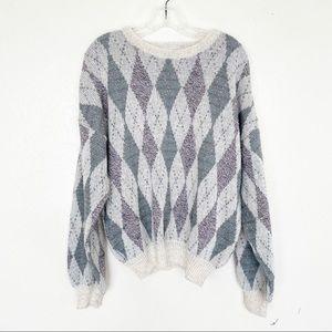Vintage Pronto Uomo Grandpa Oversized Sweater